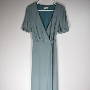 Show Me Your Mumu Sofia Wrap dress